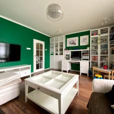 3366 - Na predaj nádherný 3 izbový tehlový byt s garážou na Ul. Damjanicha v Komárne