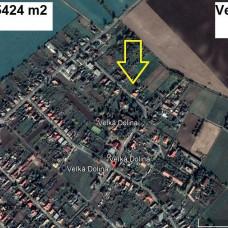 Pozemok na výstavbu rodinného domu na predaj - Veľká Dolina, okres Nitra, 5424 m2